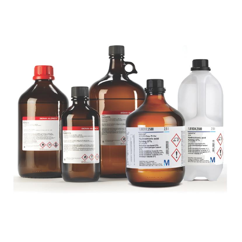 merck chemicals list